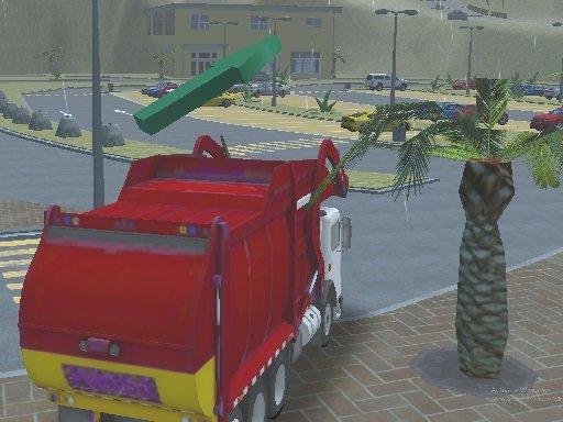 Play Island Clean Truck Garbage Sim Game