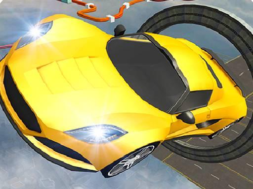 Play Ramp Car Stunts Racing Impossible Tracks Game