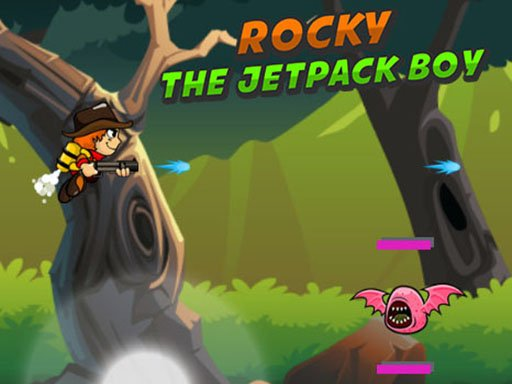 Play Rocky The Jetpack Boy Game