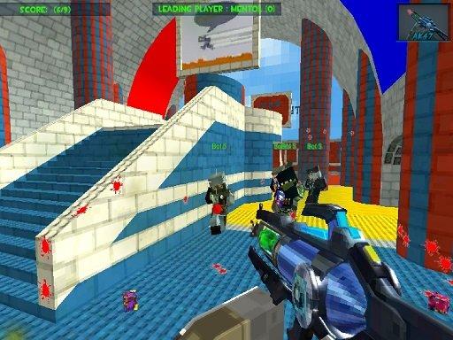 Play Blocky Gun Paintball 3 Game