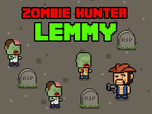 Play Zombie Hunter Lemmy Game