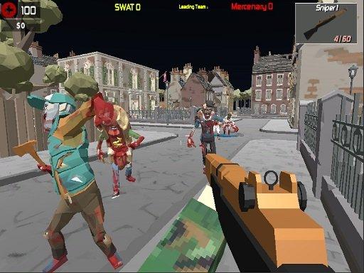 Play Gun Poligon Battle Royale Game