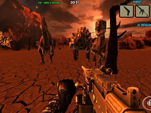 Play Dinosaurs Survival The End Of World Game
