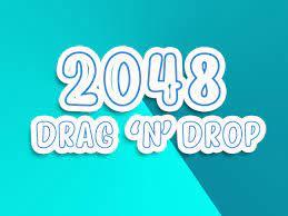 Play 2048 Drag 'N Drop Game