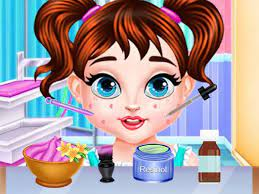 Play Baby Taylor Skin Trouble Game