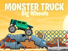 Play Big Wheels Monster Truck Game