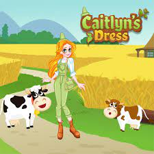 Play Caitlyn Dress Up : Farmland Game