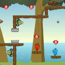 Play Fireboy Watergirl Island Survival Game