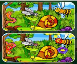Play Insects Photo Differences Game