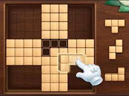 Desenhos de Blocks Puzzle Wood para colorir