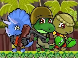 Desenhos de Dino Squad Adventure 2 para colorir