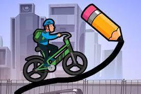 Desenhos de Draw The Bike Bridge para colorir