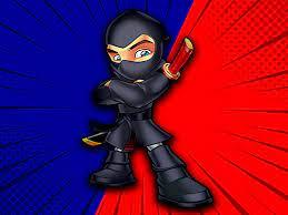 Desenhos de Ninja Rian Adventure para colorir