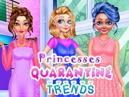 Desenhos de Princesses Quarantine Trends para colorir