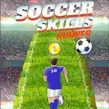 Desenhos de Soccer Skills Runner para colorir