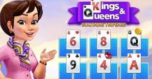 Play Tripeaks Solitaire: Kings and Queens Game