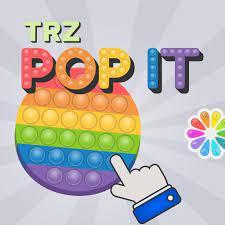 Desenhos de TRZ Pop It para colorir