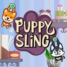 Desenhos de Puppy Sling para colorir