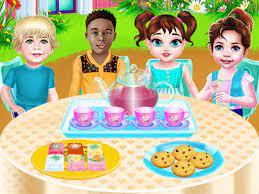 Desenhos de Baby Taylor Tea Party Day para colorir