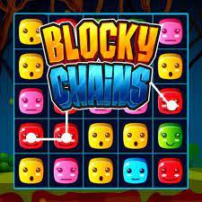 Desenhos de Blocky Chains para colorir