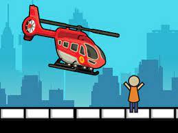 Desenhos de Rescue Helicopter para colorir