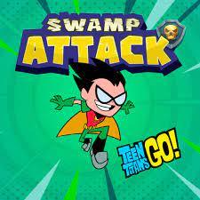 Desenhos de Teen Titans Go! Swamp Attack para colorir